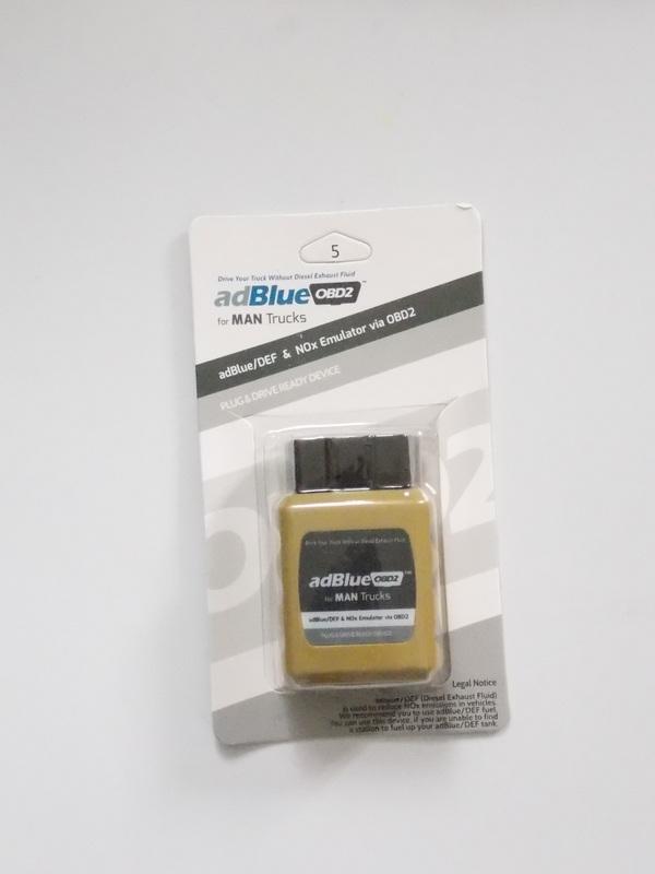 Adblue OBD2 Emulator for MAN Adblue system & NOx Sensors on